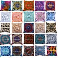 """Large Euro sham Pillow Case 26"""" Boho Decorative Cushion Cover Ethnic Pillow Sham"""