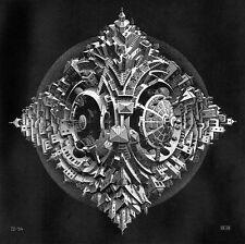 Escher # 53 cm 35x35 Poster Stampa Grafica Printing Digital Fine Art papiarte