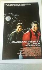 Loup-garou américain à Londres Movie Poster/Imprimer