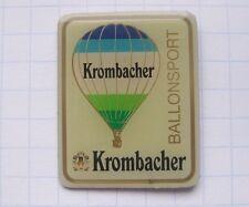 KROMBACHER / SPORT / BALLONSPORT / KREUZTAL ............ älterer Bier-Pin (129k)