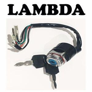 Ignition Switch Assembly & Key Set for Honda CT110 Postie Bike  35100459941 -LMC