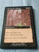 MTG 1x Yawgmoth's Bargain, Urza's Destiny Black Enchantment - LP to NM - Magic
