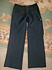 ZEN Navy Blue Tailored Polyester Bootcut FLARE TROUSERS~UK 8