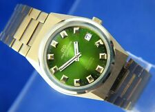Jaquet Girard Automatic Vintage Watch 1970s New Old Stock .Cal ETA 2783 25 Jewel