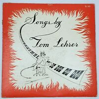 Tom Lehrer - Songs By Tom Lehrer Vinyl LP Be Prepared The Wild West TL 101