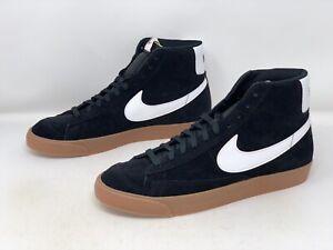 Nike Blazer Mid 77 Suede Black Sneaker, Size 13 BNIB CI1172-003
