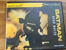 GraphicAudio Batman Dead White Audiobook CD A Movie in your Mind John Shirley