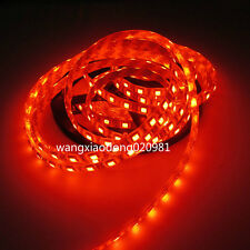 16.4FT Orange 5050 LED Strip 5M 300 LEDs SMD Lights Lamp Waterproof IP65 12V DC
