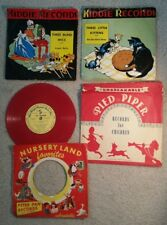 2 Vintage Kiddie Records,1 Star-Bright Musical Pack O'Fun, 2 Sleeves wNo Records