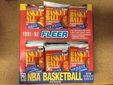 1991/92 FLEER Basketball  NBA JUMBO UPDATE BOX Unopened Jordan PSA10?