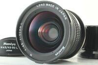 【TOP MINT】 Mamiya N 50mm f/4.5 L Lens For Mamiya 7 & 7II w/ Hood From Japan #437
