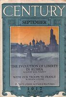 1917 Century September - Evolution of Liberty in Russia; Peary;Marines/Fusiliers