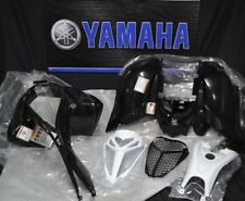 Raptor 700 plastics GENUINE YAMAHA fenders COMPLETE set 2006-2018 BLACK 700R NEW