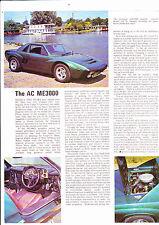 AC ME 3000 periodo roadtest/Opuscolo-Agosto 1975