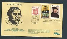 US Stamps FDC MARTIN LUTHER #2065 / JSS  Cachet / 1983