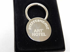 Hotel Pfeffermühle Rare Art Hotel Key FOB Souvenir Keychain Siegen Germany