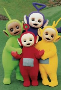 TELETUBBIES POSTER PRINT ART - VARIOUS SIZES & FRAMED OPTION t1a