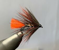 Doobry Red Hackle - Pack of 3 flies - Size 10 - New