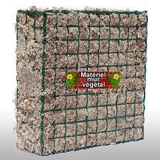 Module grillagé 36x36x16cm Sphaigne de Madagascar (création mur végétal)