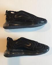 Nike Air Max 720 Men's Size 9.5 Triple Black Anthracite