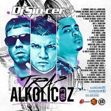 DJ SINCERO Trap Alkolicoz 3 Reggaeton Latin Spanish Mixtape CD MIX Anuel Farruko