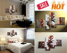 Hand Painted Wall Art Elegant Modern Oil Painting Furniture Decor Living Room