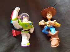 WOODY & BUZZ LIGHTYEAR Toy Story Mini Figures Mattel Disney 3 Inch