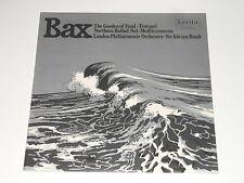 Adrian Boult - LP - BAX - The Garden Of Fand - Tintagel - LYRITA STEREO