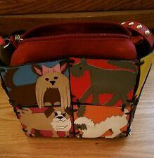 Michael Simon Patchwork Puppies Handbag
