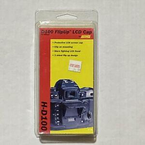 Hoodman H-D100 FlipUp LCD Cap Camera LCD Screen Shade Protector Nikon D100