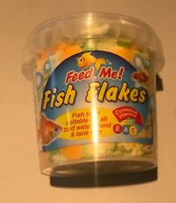 MULTIBUY!!  Feed Me Fish Food Flakes For All Cold Water Pond & Tank Fish 50g