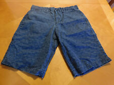 GAP Size 29 Floral Print Shorts Blue