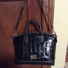 Dooney and Bourke Croco Embossed Leather Handbag