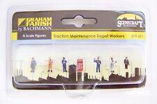Graham Farish  379-311 Depot Maintenance Workers Model Trains ***N SCALE***