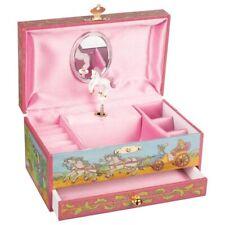 GOKI Musikspieldose Pferd mit Schublade Spieldose Musik Nostalgie Kinderspiel