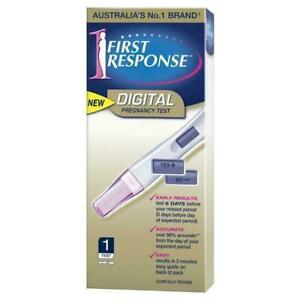 First Response Digital Pregnancy Test 1 Pack Early Result Over 99% Accurate Easy