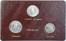 1981 FAO World Food Day October 16 Album Insert Zambia Ngwee Swaziland Lilangeni
