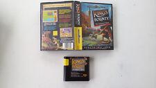 King's Bounty The conqueror's quest EA/New world computing SEGA Megadrive MD FR