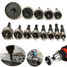 13x 16-53mm Hole Saw Tooth HSS Drill Bits Steel Cutter Tool For Metal Wood Alloy