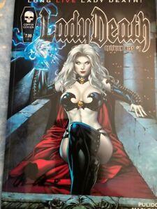 Lady Death Oblivion Kiss #1