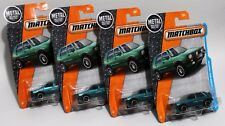 '90 VOLKSWAGEN GOLF COUNTRY * LOT OF 4 * 2017 MATCHBOX * TEAL ON GREEN CARD