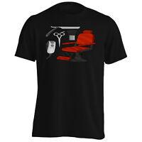 Barber Chair Hair Men's T-Shirt/Tank Top p145m