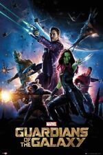 Guardians Of The Galaxy - One Sheet Movie Poster 24x36 - Marvel Comics 84842