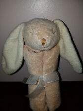 Angel Dear Plush Floppy Ears Brown Bunny Rabbit Security Blankie Lovey NEW