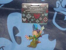 Disney DOPEY Dwarf 2020 Sketchbook Christmas Ornament New