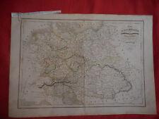 CARTE - Allemagne, l'empire Autrichien, le royaume de Prusse