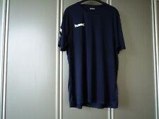 Hummel Herren Trikot T-Shirt Gr. XXL blau Fußball Handball