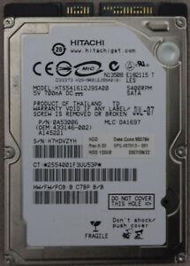 """Hitachi HTS541612J9SA00 120GB,Internal,5400 RPM,6.35 cm (2.5"""") (0A50686) Desktop"""