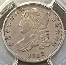 1832 Capped Bust Dime  PCGS XF45  JR-3  population 1/2