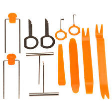 12X Panel Removal Open Pry Clip Tool Kits Car Auto Dash Door Radio Stereo Trim